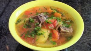 Шурпа из свинины на костре в казане: рецепты, как приготовить