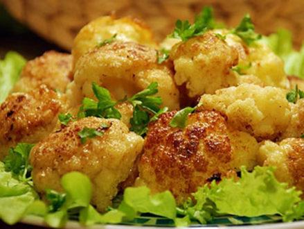Диетические блюда из цветной капусты для похудения- рецепты